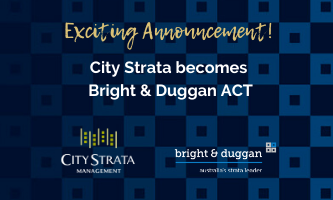 City Strata becomes Bright & Duggan ACT